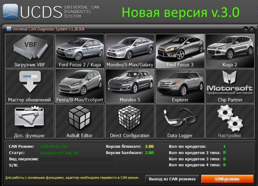 Ford UCDS