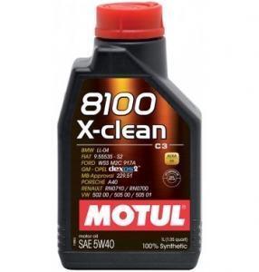 motul 8100 x clean 5w40 (с3) 360x360